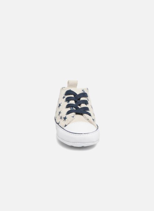 Trainers Converse CTAS FIRST STAR HI VAPOROUS GRAY White model view