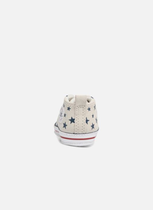 Sneakers Converse CTAS FIRST STAR HI VAPOROUS GRAY Hvid Se fra højre
