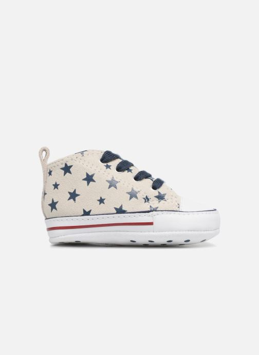 Sneakers Converse CTAS FIRST STAR HI VAPOROUS GRAY Hvid se bagfra