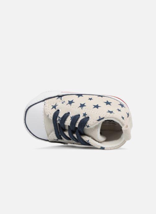 Sneakers Converse CTAS FIRST STAR HI VAPOROUS GRAY Hvid se fra venstre