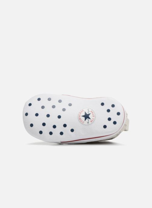 Trainers Converse CTAS FIRST STAR HI VAPOROUS GRAY White view from above