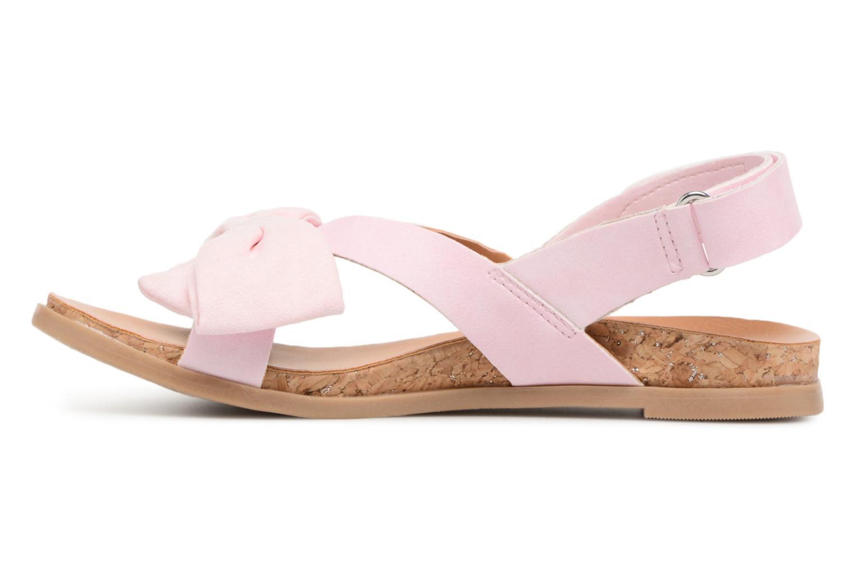 Sandales et nu-pieds UGG Fonda Rose vue face