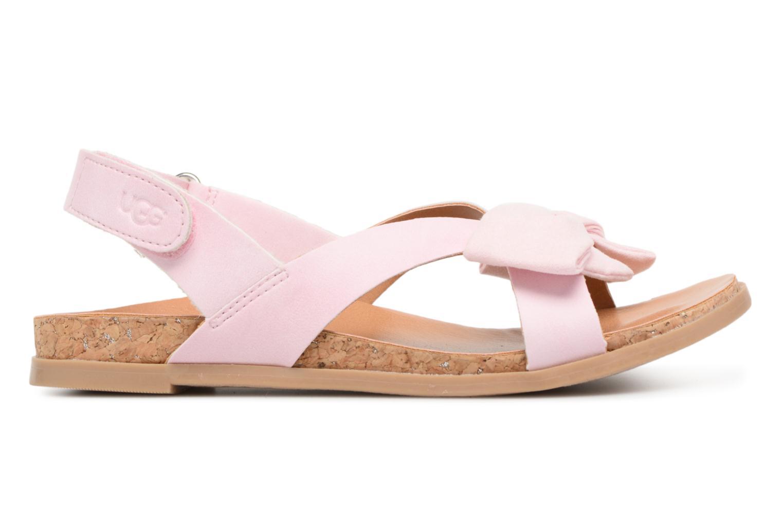 Sandales et nu-pieds UGG Fonda Rose vue derrière