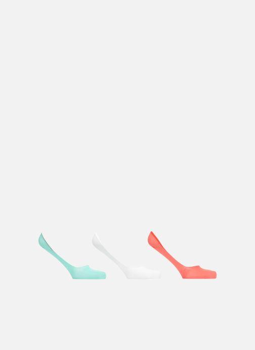 Chaussettes et collants Sarenza Wear Chaussettes Protèges - Pieds Femme : pack de 3 coton Multicolore vue détail/paire