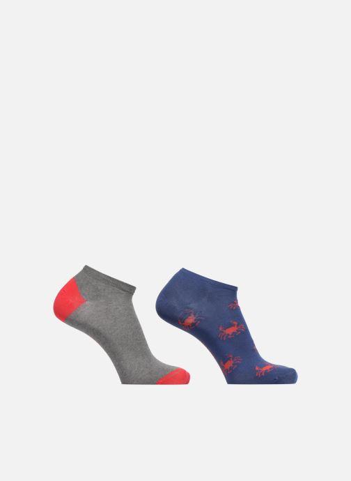 Socken & Strumpfhosen Sarenza Wear Chaussettes Invisibles Homme crabes Pack de 2 coton mehrfarbig detaillierte ansicht/modell