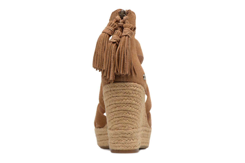 Sandales et nu-pieds UGG Raquel Beige vue droite