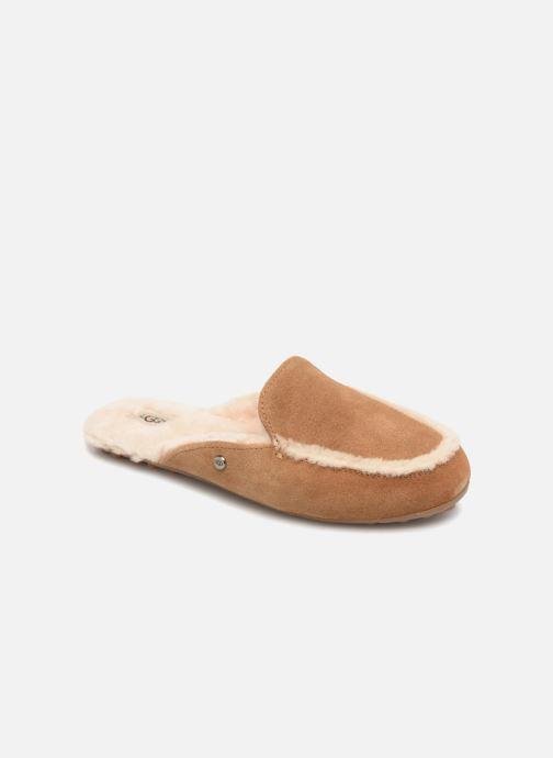 d8dfe905c82e Hjemmesko UGG Lane Brun detaljeret billede af skoene