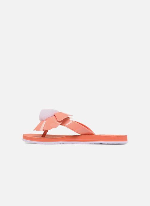 Flip flops UGG Poppy F Orange front view