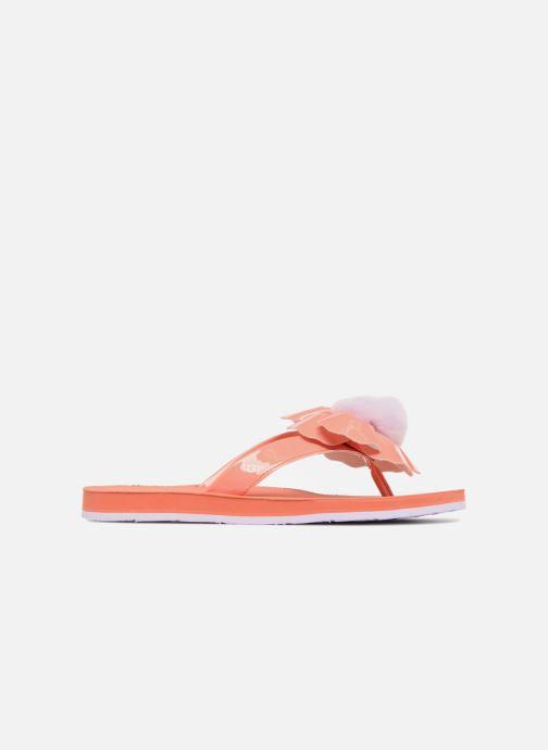 Flip flops UGG Poppy F Orange back view