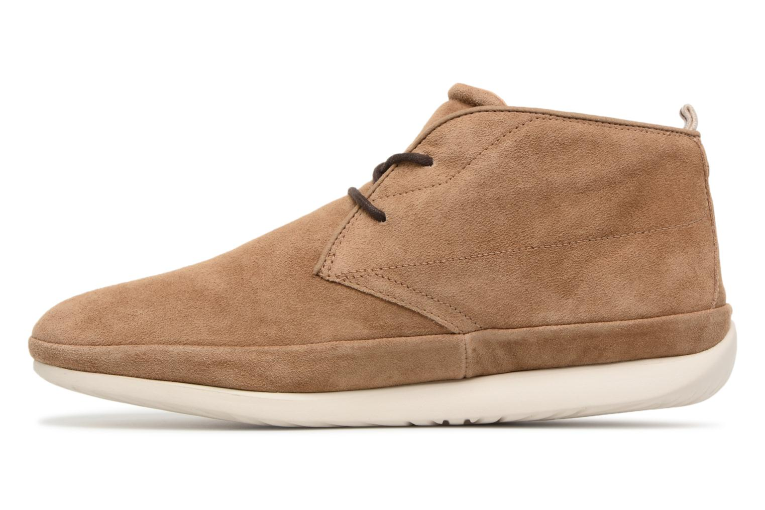 Baskets UGG Cali Chukka Marron vue face