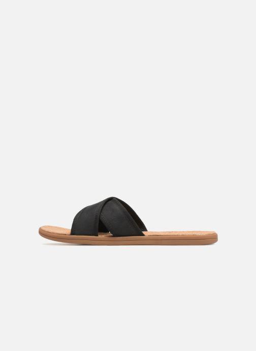 Sandalias UGG Seaside Slide Negro vista de frente