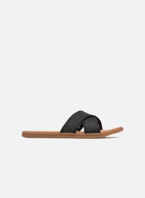 Sandalias UGG Seaside Slide Negro vistra trasera