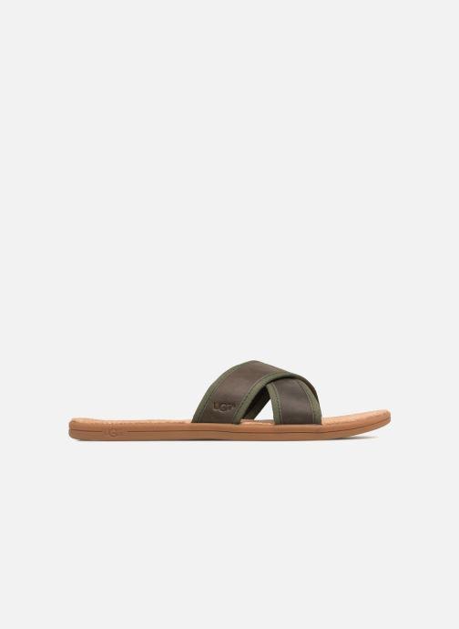 Sandalen UGG Seaside Slide Bruin achterkant