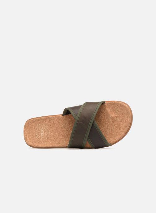 Sandalen UGG Seaside Slide Bruin links