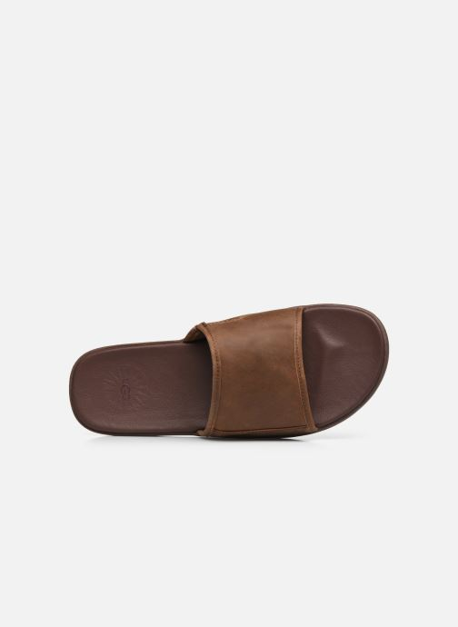 Sandali e scarpe aperte UGG Seaside Slide Marrone immagine sinistra