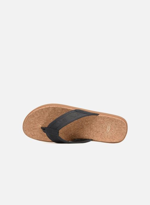 Slippers UGG Seaside Flip Blauw links