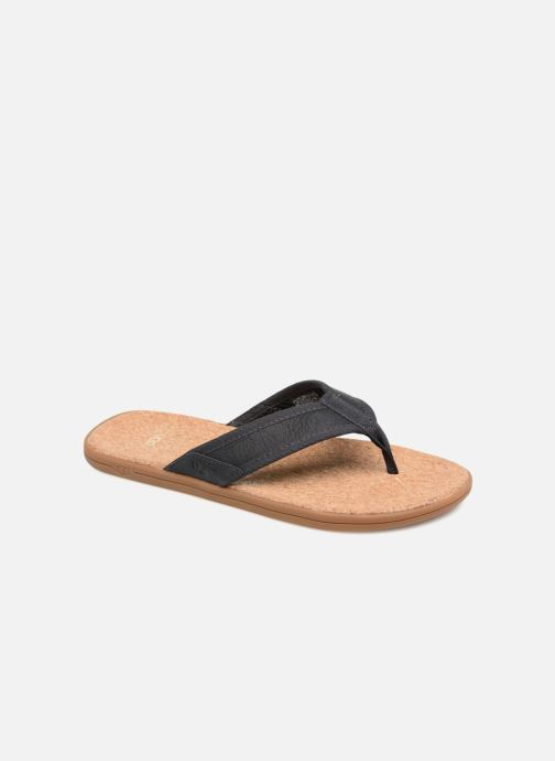 Slippers UGG Seaside Flip Blauw detail