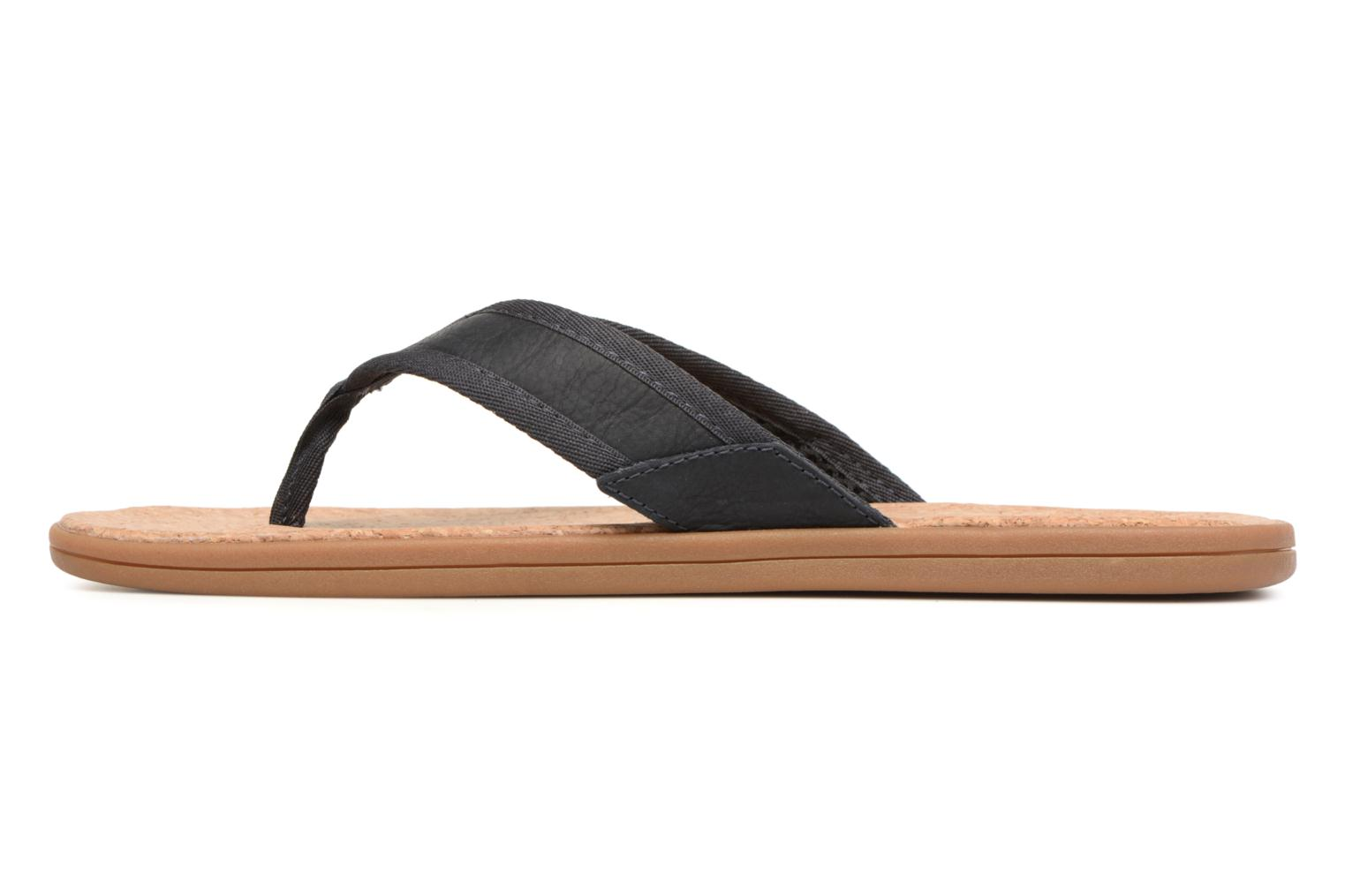 Tongs UGG Seaside Flip Bleu vue face