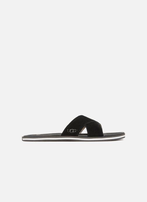 Sandales et nu-pieds UGG Beach Slide Noir vue derrière