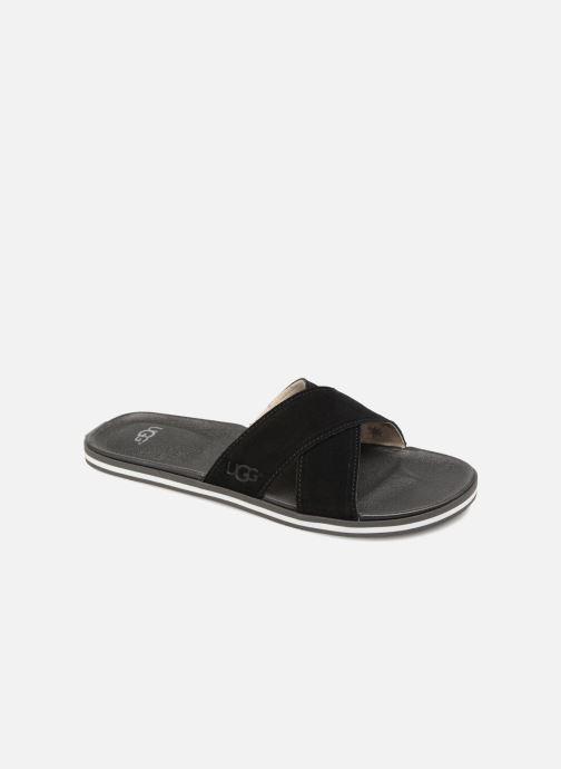 Sandaler UGG Beach Slide Sort detaljeret billede af skoene