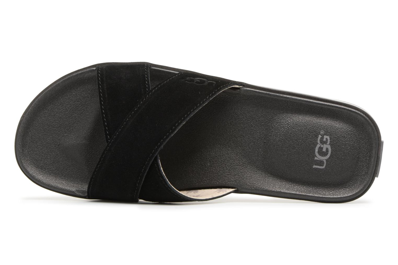 Sandales et nu-pieds UGG Beach Slide Noir vue gauche