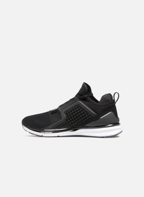 Sneakers Puma IGNITE Limitless Weave Zwart voorkant