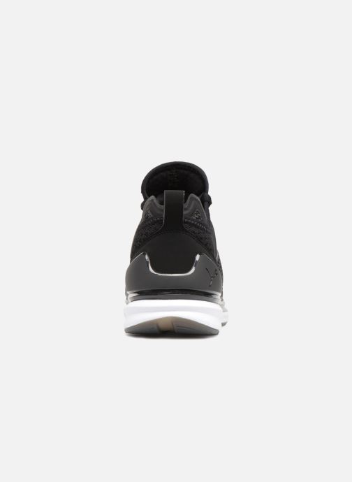 Sneakers Puma IGNITE Limitless Weave Zwart rechts