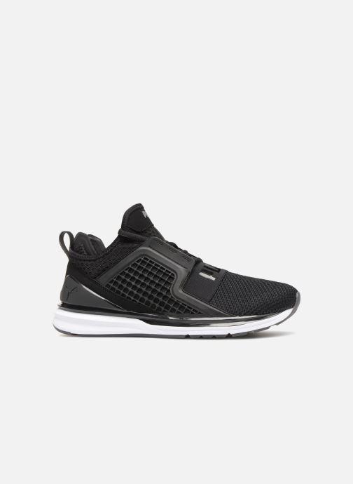 Sneakers Puma IGNITE Limitless Weave Zwart achterkant