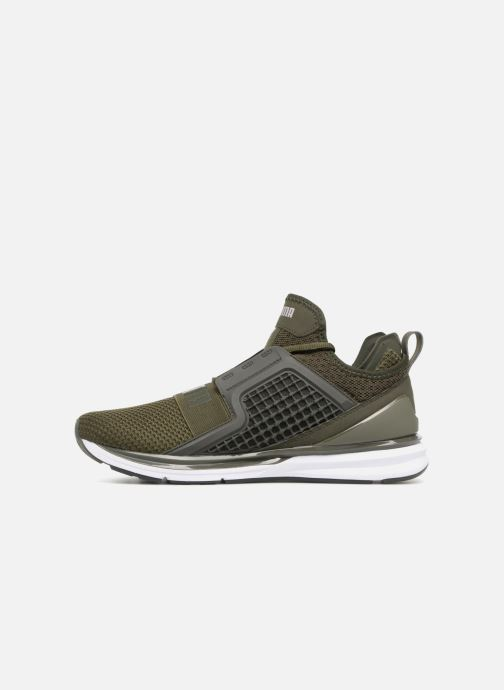 Sneakers Puma IGNITE Limitless Weave Grøn se forfra