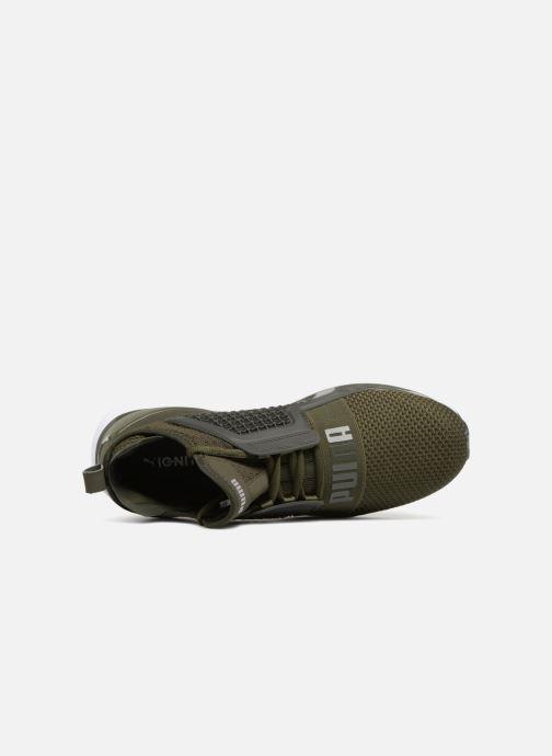 Sneakers Puma IGNITE Limitless Weave Grøn se fra venstre