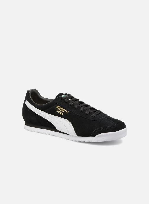 Sneakers Puma Roma Suede Sort detaljeret billede af skoene