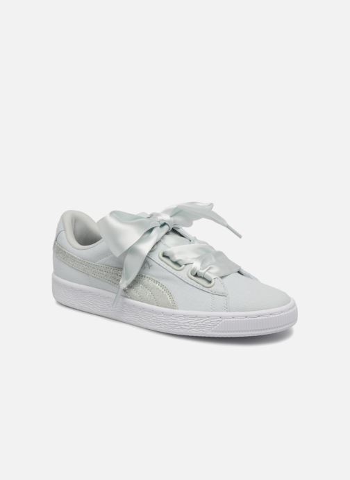 Wn'sazzurroSneakers325031 Basket Canvas Puma Heart Puma vwmnN80