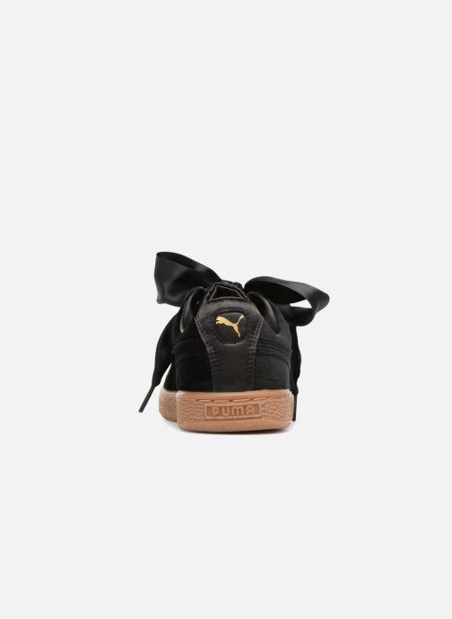 Sneakers Puma Suede Heart VS Wn's Nero immagine destra