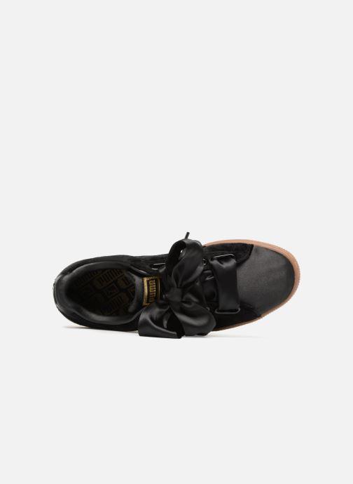 Sneakers Puma Suede Heart VS Wn's Nero immagine sinistra