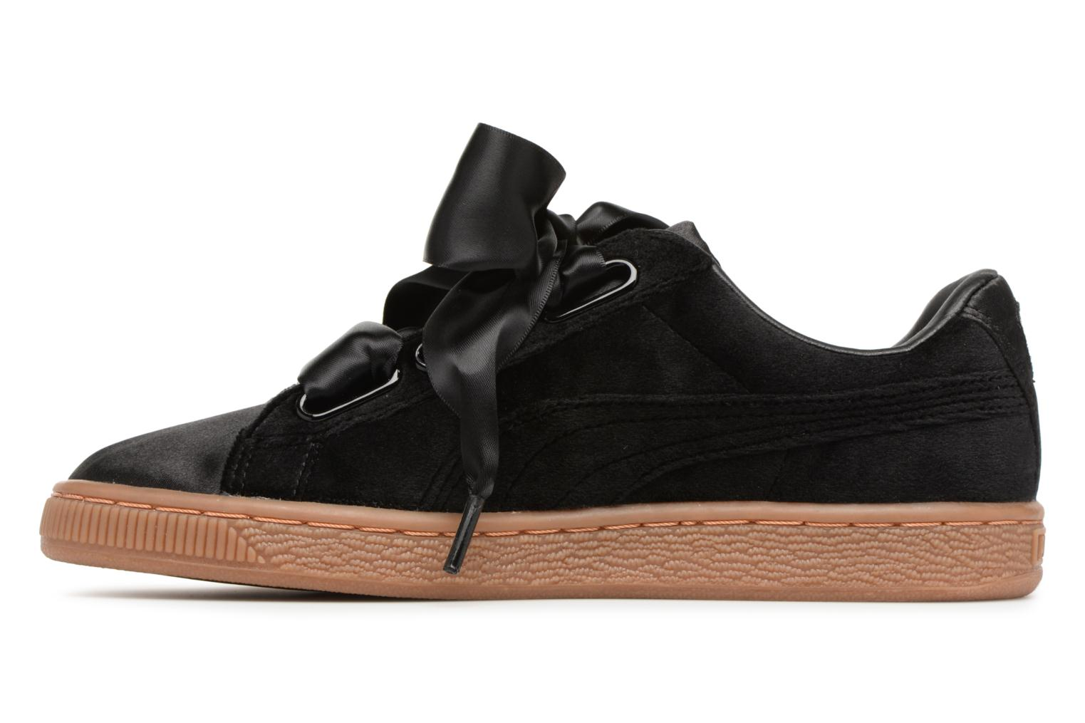 Sneakers Puma Suede Heart VS Wn's Sort se forfra
