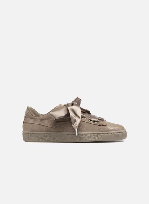Sneakers Puma Suede Heart Bubble Wn's Verde immagine posteriore