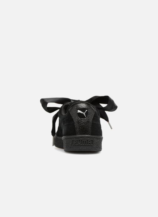 Suede Puma Baskets Black Bubble Heart Black puma Wn's 4L5q3AjR