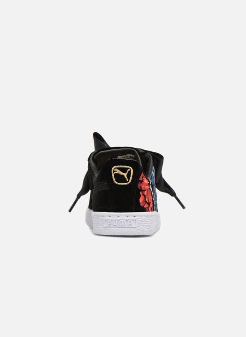 Baskets Puma Basket Heart Hyper Emb Wn's Noir vue détail