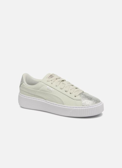 Sneaker Damen Basket Platform Canvas Wn's