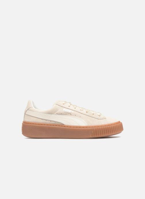 Sneaker Puma Suede Platform Bubble Wn's grau ansicht von hinten