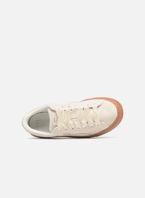 Sneaker Puma Suede Platform Bubble Wn's grau ansicht von links