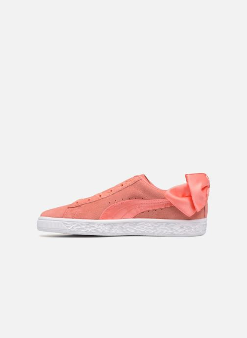 Baskets Puma Suede Bow Wn's Rose vue face