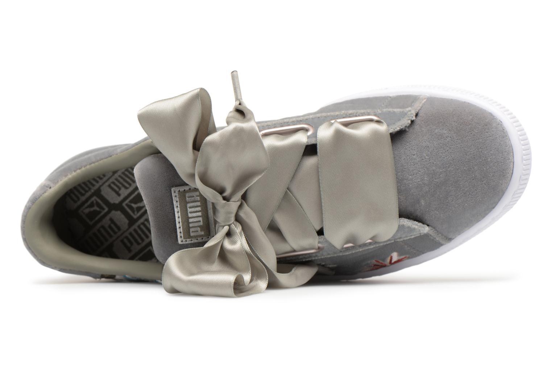 Baskets Puma Suede Heart Hyper Wn's Gris vue gauche