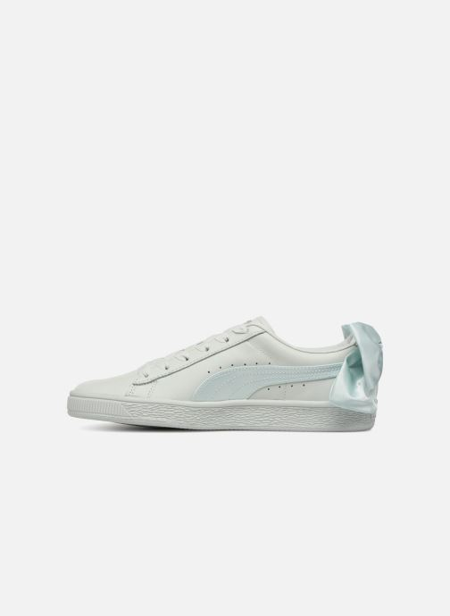 Baskets Puma Basket Bow Wn's Bleu vue face