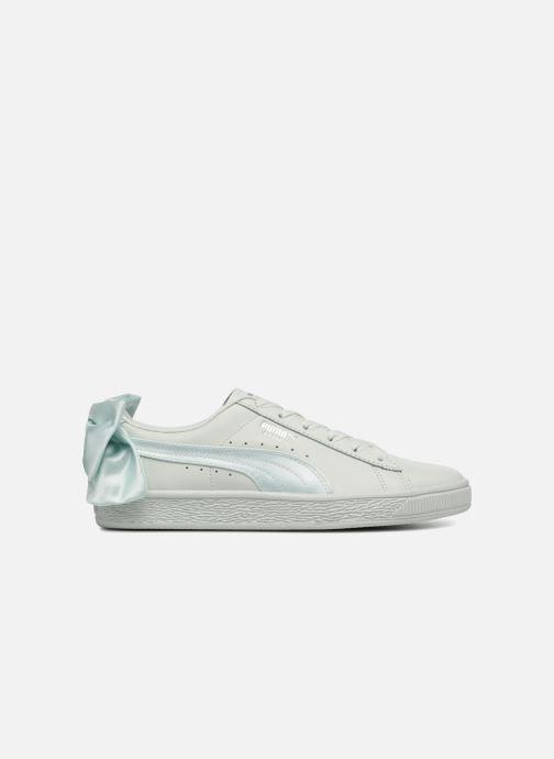 Sneakers Puma Basket Bow Wn's Azzurro immagine posteriore