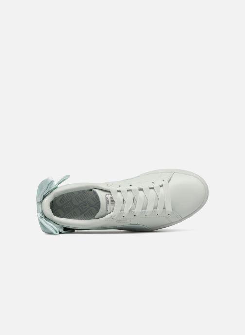 Sneakers Puma Basket Bow Wn's Azzurro immagine sinistra