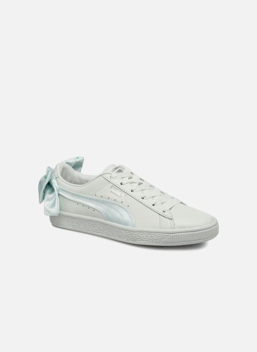 Sneakers Puma Basket Bow Wn's Azzurro vedi dettaglio/paio