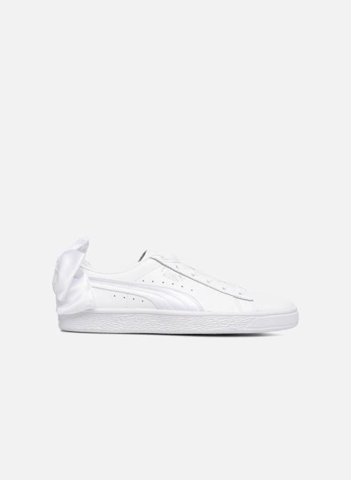 Sneaker Puma Basket Bow Wn's weiß ansicht von hinten