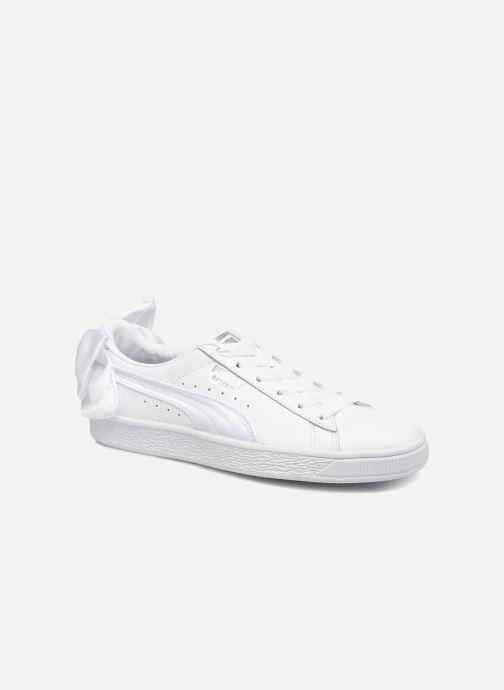 Sneaker Puma Basket Bow Wn's weiß detaillierte ansicht/modell