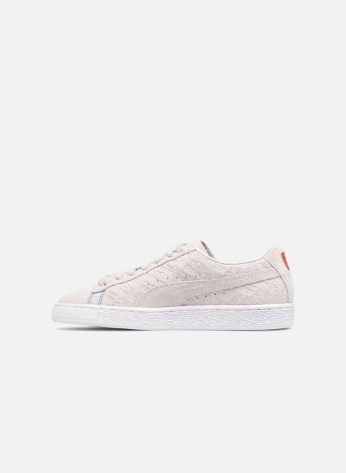 Sneakers Puma Suede Classic SEOUL Beige se forfra